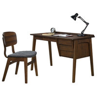 Lorain Home Office Collection, Writing Desk With Chair