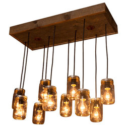 Rustic Chandeliers by Born Again Creative
