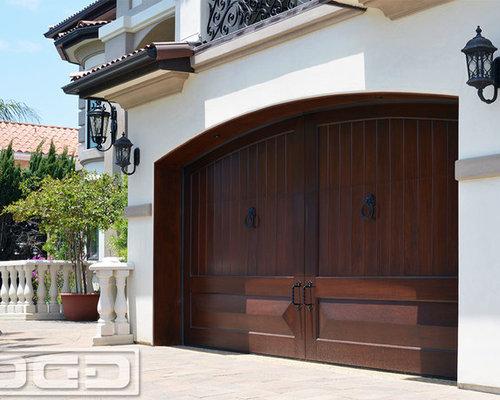 Mediterranean Garage Doors Custom Manufactured Luxury