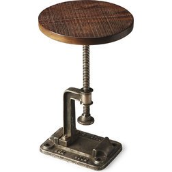 Industrial Side Tables And End Tables by HedgeApple