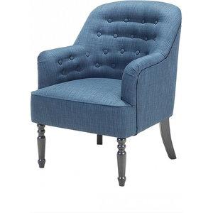 Mandal Armchair, Solid Blue