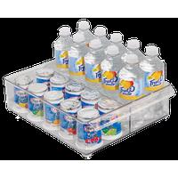 Clear Plastic Refrigerator Organizer