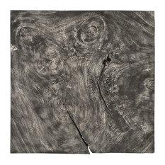 Chamcha Wood Wall Tile, Gray Stone