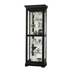 howard miller howard miller martindale iii curio cabinet china cabinets and hutches