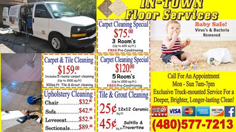 Tile & Grout / CARPET / UPHOLSTERY CLEANING