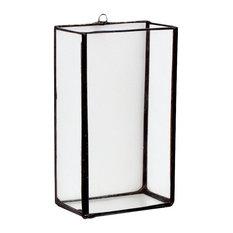 VERTICAL RECTANGLE TERRARIUM VASE / WINDOW BOX, Medium, Hookeye