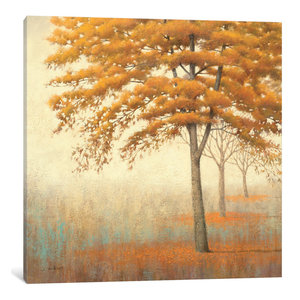 """Autumn Trees I"" by James Wiens, Canvas Print, 37""x37"""
