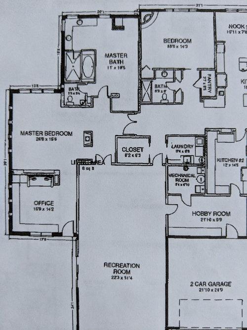 Help With Closet Design Garage Space Floor Plan