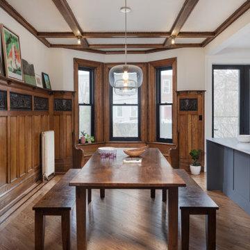 Flatbush Limestone Townhouse Renovation