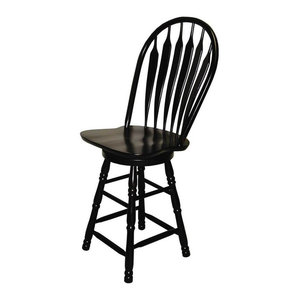 Surprising 30 In Swivel Barstool Antique Black Traditional Bar Pdpeps Interior Chair Design Pdpepsorg