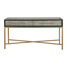Moe's Home Mako Console Table With Grey Finish VL-1049-15