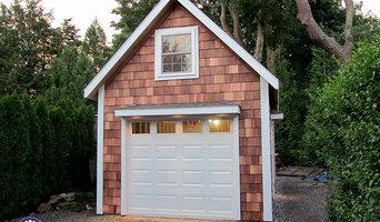 Cedar Shake Garage - 12x20 Two Story Garage