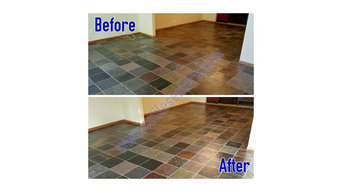 Slate Floors Cleaning and Sealing
