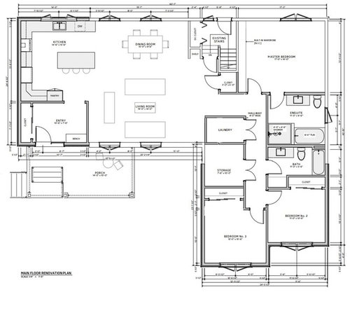 Ranch House Addition Final Layout
