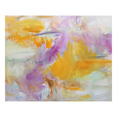 """Original Abstract Painting by Trixie Pitts """"Brand New Day"""", 48""""x60"""""""