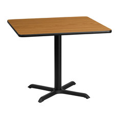 Restaurant Tables And Chairs -inchTweezy-inch 36'' Square Dining Table Natural