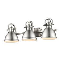 lighting duncan 3 light bath vanity pewter bathroom vanity lighting