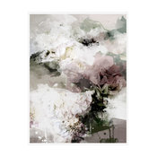 """Bed Of Roses"" Floral Art Print, Print Only, 50x70 cm"