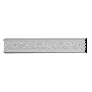 Classic Barrel Panel Moulding 1 3//4H x 7//8P x 94 1//2L, 1 7//8 Repeat