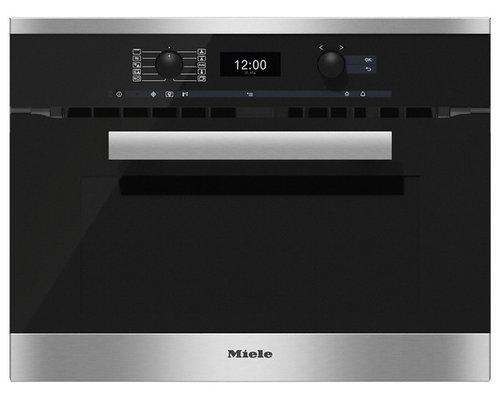 ミーレ電子レンジ機能付オーブンH6400BM ¥429,840(税込) - オーブン