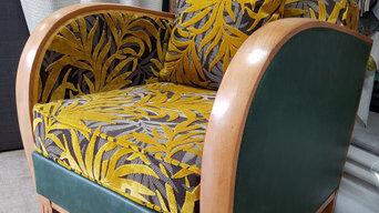 réfection fauteuil studio ARABESQUE