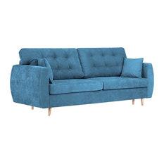 Amsterdam Sofa Bed, Blue