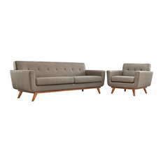 Granite Engage Armchair And Sofa Set Of 2