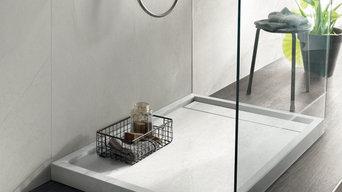 SIGN - Piatto doccia rettangolare in gres porcellanato