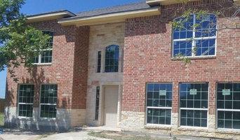 Stone and Brick Extrior Home