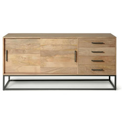 Industrial Buffets And Sideboards by Houzz
