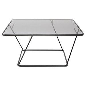 Freebird Coffee Table, Black and Grey