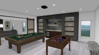 Large Basement Concept Design