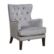 Isabella Contemporary Tufted Wingback Accent Chair