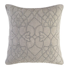 Dotted Pirouette Pillow 18x18x4, Polyester Fill