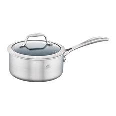 ZWILLING Spirit 3-ply 2-qt Stainless Steel Ceramic Nonstick Saucepan