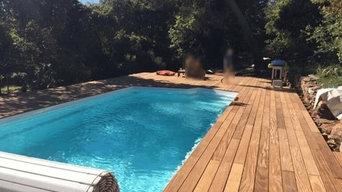 Installation piscines et constructions de terrasses
