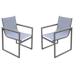 Contemporary Outdoor Dining Chairs by Armen Living