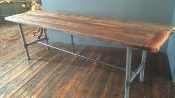 Live Edge Bar and Community Table for KOFFEE on Audobon New Haven CT