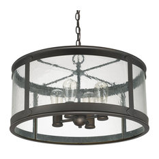 Capital Lighting Fixture Company Dylan 4 Light Outdoor Chandelier Old Bronze