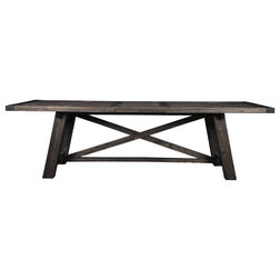 Farmhouse Dining Tables by Alpine Furniture, Inc