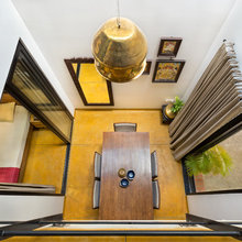 Bangalore Houzz: Architect's Home Embraces an Earthy Material Palette