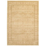 Unique Loom - Unique Loom Edinburgh Aurinia Area Rug, Cream, 7'x10' - The classic look of the Edinburgh Collection is sure to lend a dignified atmosphere to your home. With an array of colors and patterns to choose from, there�s a rug to suit almost any taste in this collection. This Edinburgh rug will tie your home�s decor together with class and amazing style.