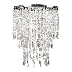50 most popular contemporary crystal chandeliers for 2018 houzz sleeping partners home fashion faux crystal triple layer dangling pendant shade chandeliers aloadofball Image collections