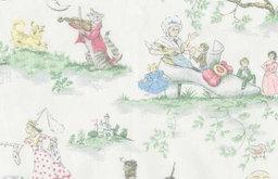 Nursery Rhyme Toile Fabric
