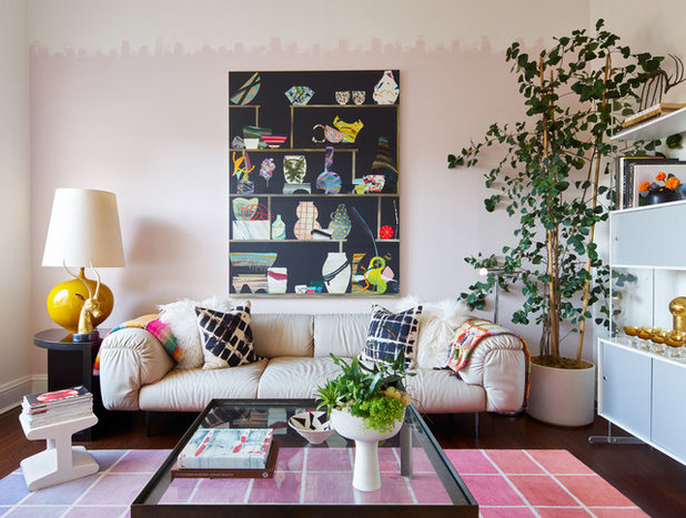 room of the week a colourful living room filled with vintage finds - Colourful Living Room