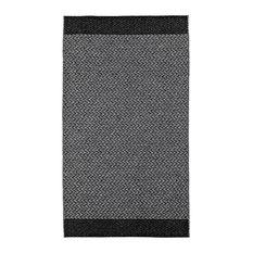 Flake Coal Woven Vinyl Rug, 150x210 cm