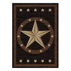 """Western Star Rug, 3'11""""x5'3"""""""