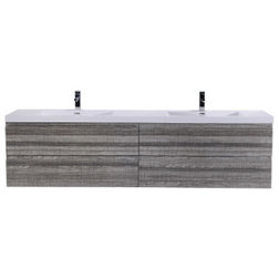 Contemporary Bathroom Vanities And Sink Consoles by Bathroom Vanity Wholesale INC.