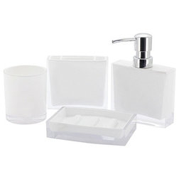 Contemporary Bathroom Accessory Sets by Kingston Brass