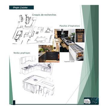 Modernisation d'une cuisine - Planche recherches